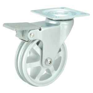 Aluminum Double Ring Design Caster