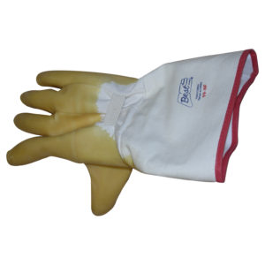 Flannel Natural Rubber-Coated Gloves