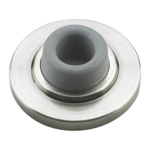 "2-1/2"" Wall Mount Door Stop - Concave"