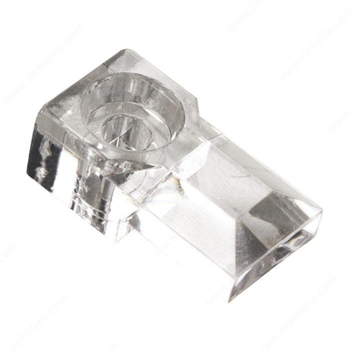 Supports miroir en plastique quincaillerie onward for Miroir en plastique