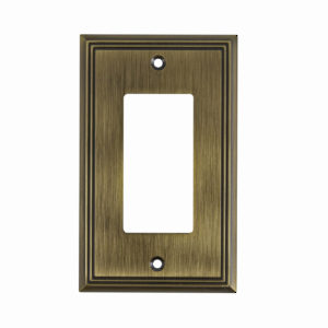 Switch plate 1 Decora - Contemporary Style