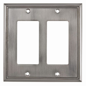 Switch plate 2 Decora - Contemporary Style