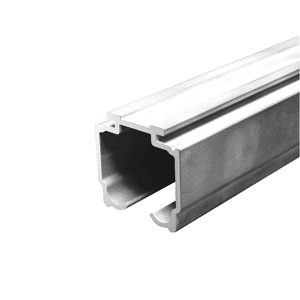 U45 AL Single Aluminum Upper Track Set