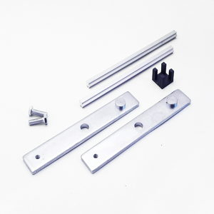 Glass Compression Clamp Spacer Kit