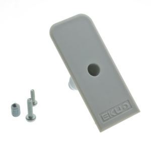 Grey Plastic Cover Cap for Track