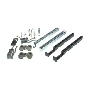 Hardware Set for One Wood Sliding Door, UP/100 kg