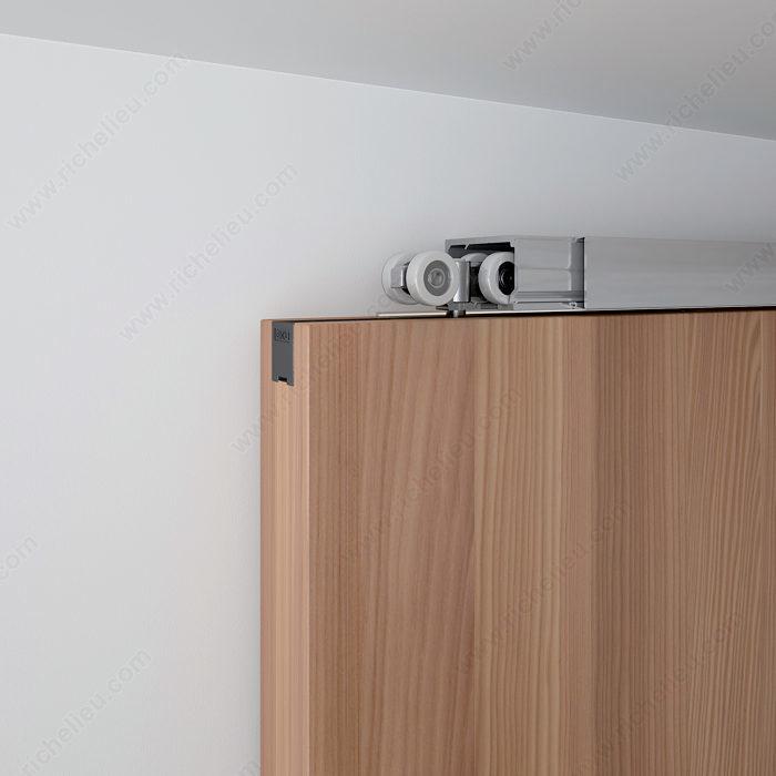 Ensemble de quincaillerie pour une porte coulissante en bois 100 kg quincai - Ensemble porte coulissante ...