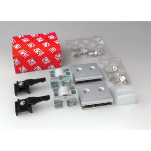 Hardware Set for One Glass Door, 8-10 mm, 45 kg