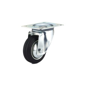 Industrial Euro Series Rubber Caster