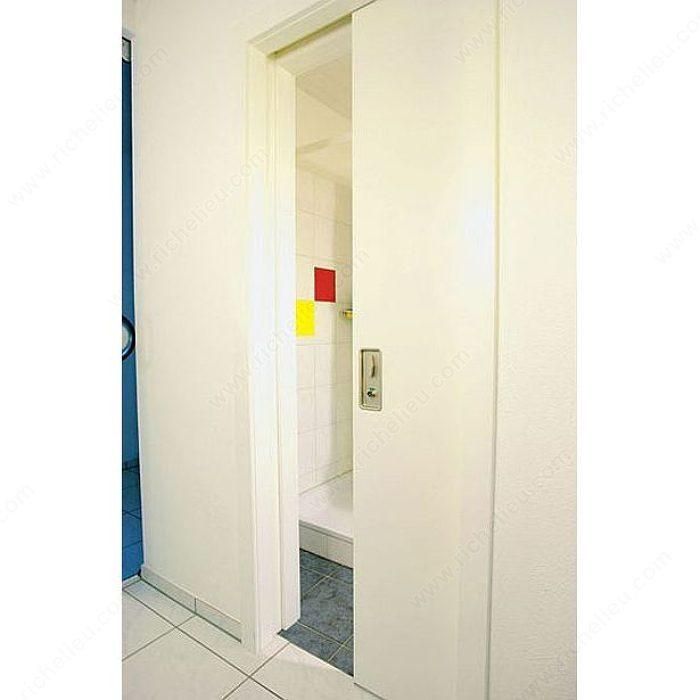 hawa silent stop serrure tringle pour portes coulissantes avec fouillot de 7 mm w c. Black Bedroom Furniture Sets. Home Design Ideas