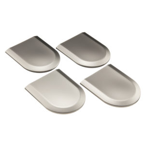 Rounded cover plate plastic