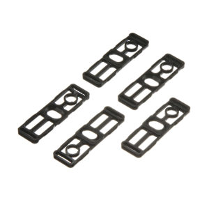 Set of Fixing Parts for Dual Bottom Guide Channel - Set of 5 Pieces