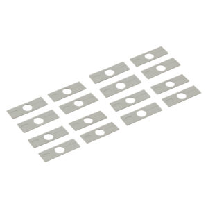Glass Fixing Parts for One Door - Set of 16 Pieces