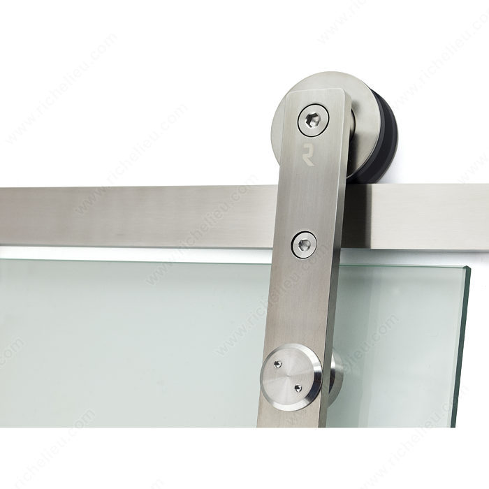 Connect Glass Door Wall Mount Sliding System Onward Hardware