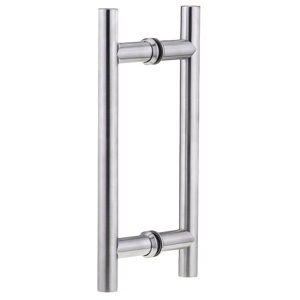"1"" (25 mm) Ladder Back-to-Back Stainless Steel Handle"