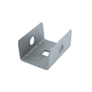 Galvanized Steel Box Rail End Cap