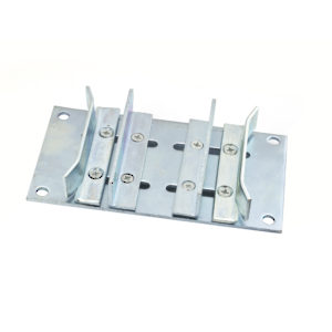 Double Sliding Door Guide with Adjustable Width