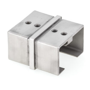 180° Rectangular Connector for Top Handrail