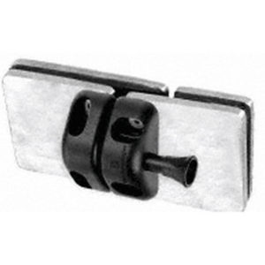 Glass-to-Glass 180° Gate Latch