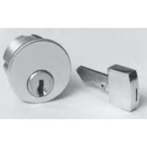 Captive Keyed Mortise Cylinder