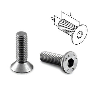 Replacement Faceplate Screws for Glass Clamps