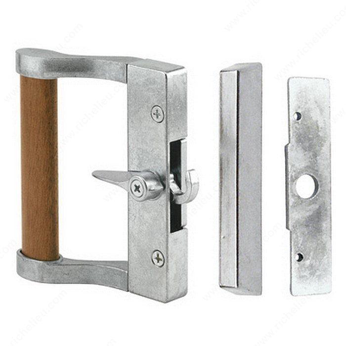 Hook Style Patio Door Handle Set Onward Hardware