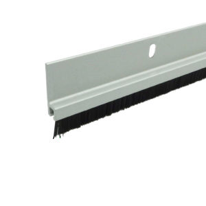 Aluminum Door Sweep with Nylon Brush