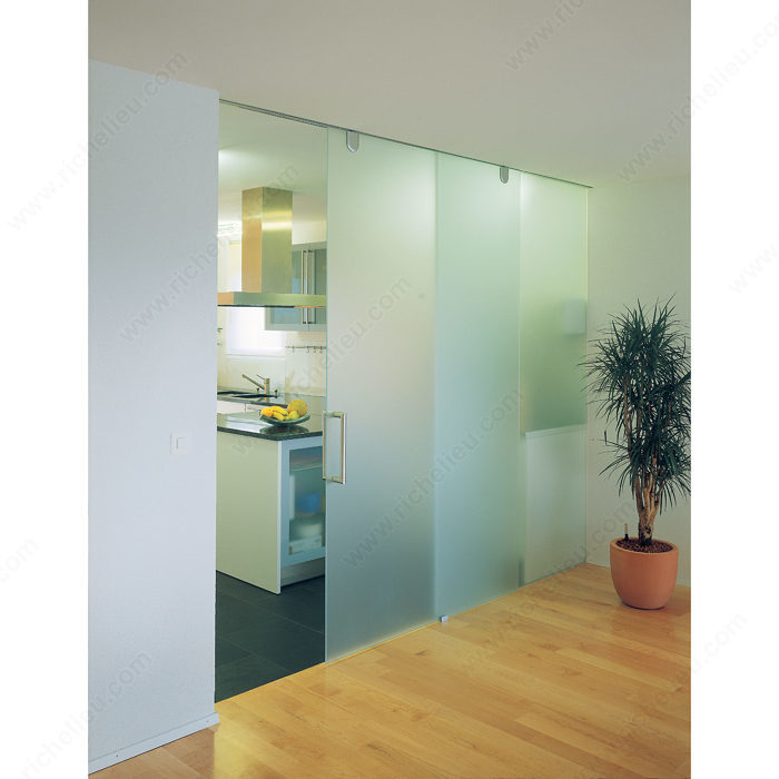 Hawa Junior 80 Gp Top Hung Sliding System For Glass Doors With