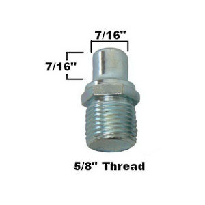 Aluminex Replacement Threshold Pin