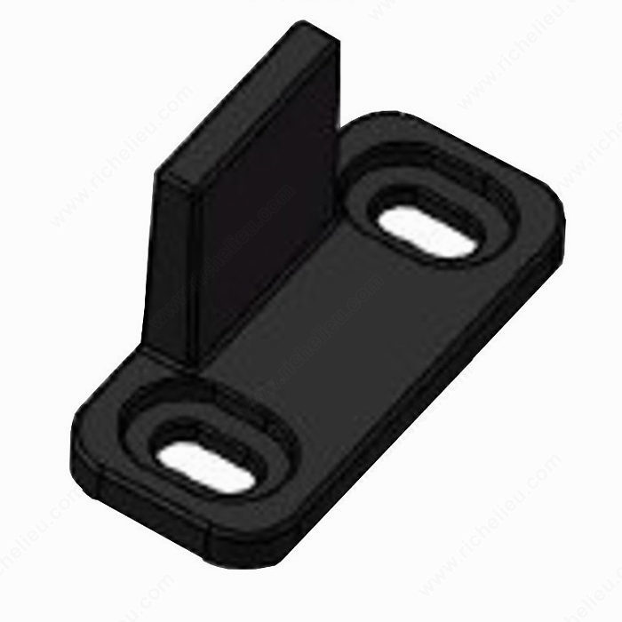 Black Plastic Guide for Wood Door-2