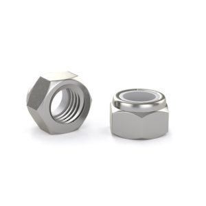 Hex Lock Nut with Nylon Insert - Stainless Steel
