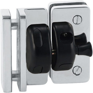 90° Glass-to-Glass Magnetic Safety Gate Latch