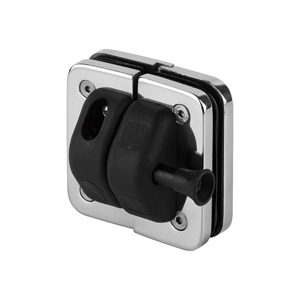 180° Glass-to-Glass Magnetic Safety Gate Latch