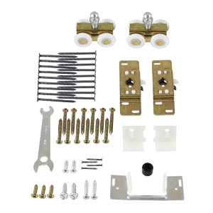 Pocket Door Hardware Kit, Snap-In Mount