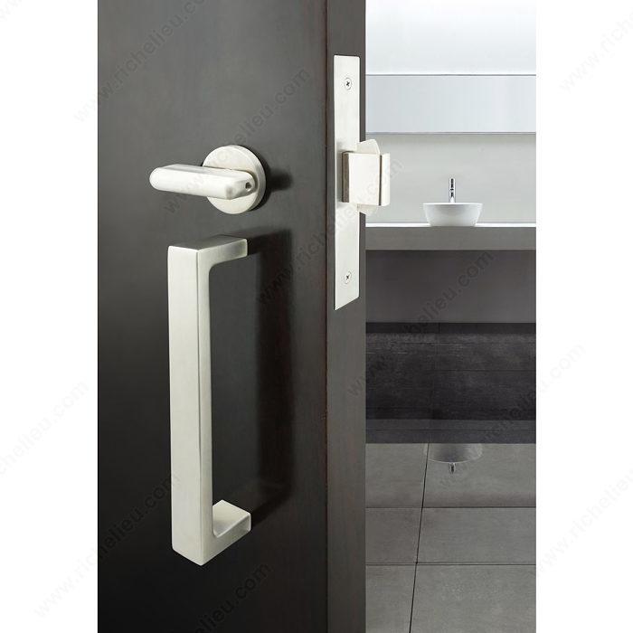 INOX(TM) PD5000 Mortise Lock Set for Sliding Doors - Onward Hardware