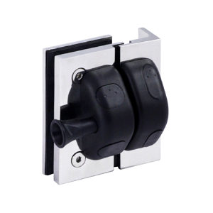 90° Square Post-to-Glass Pool Gate Latch