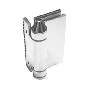 Spring-loaded Adjustable 90º Wall/Post-to-Glass Pool Hinge