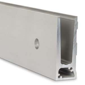 Face Mount Heavy-Duty Aluminum Base Shoe Channel