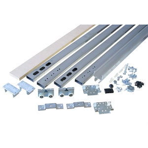 "Type C Quick-Release Pocket Door Frame Kit - Door Width: 36"" to 48"" (2 1/2)"