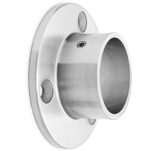 New Round Tubing Wall Mount Flange
