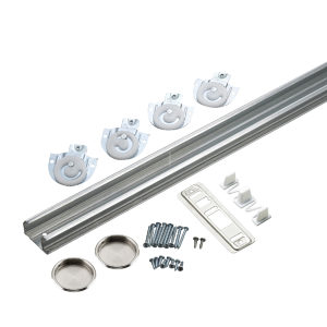 Bypass Door Hardware Kit - with Track
