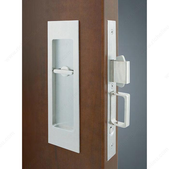 INOX(TM) PD8000 Mortise Lock Set for Sliding Doors - Onward Hardware