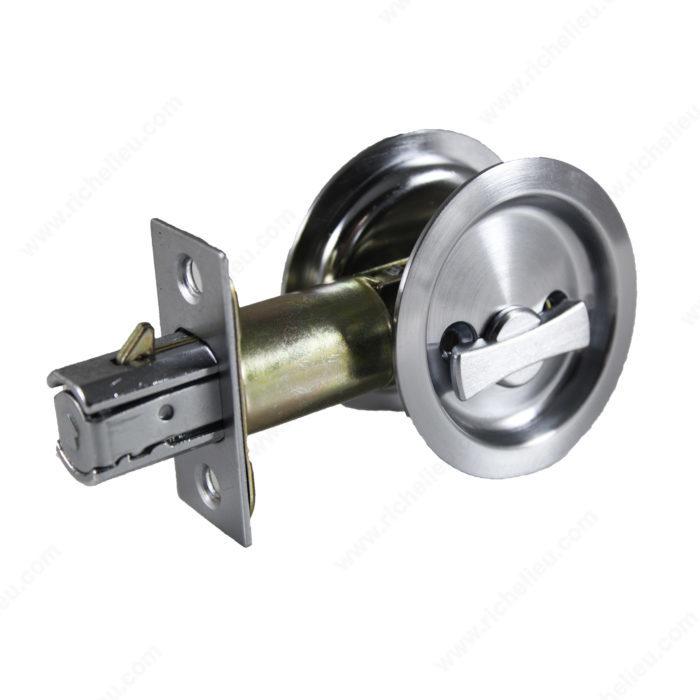 Poign e pour porte escamotable ronde quincaillerie onward - Poignee de porte ronde laiton ...