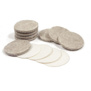 ULTRA FELTAC® Heavy-Duty Round Felt Pads and VELCRO®