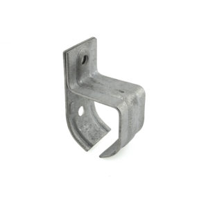 Single Galvanized Steel Rail Bracket - Wall Mount
