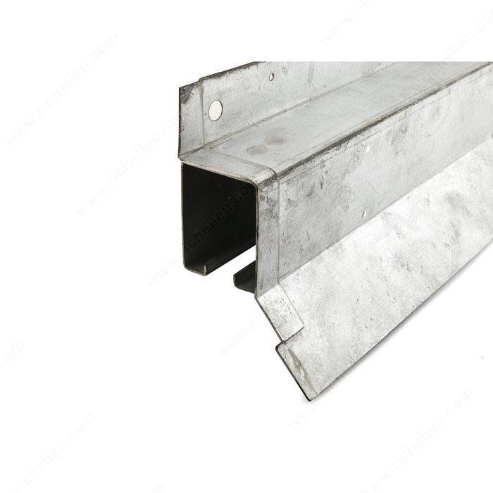 Heavy Duty Galvanized Steel Box Rail With Flashing Onward Hardware