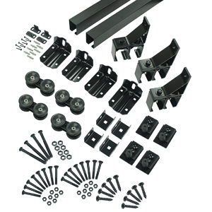 Double Box Track Hardware Kit