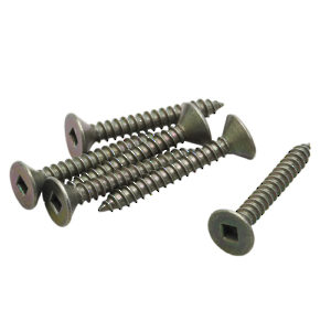 Wood Screws - Flat Head Square Drive