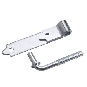 Screw Hook with Strap Hinge
