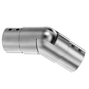 Top Handrail Connectors with Adjustable Downward Angle of 25º to 55º